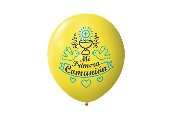 12 PULGADAS PERLADO AMARILLO - COMUNIÓN