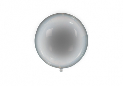 GLOBO PVC TRANSPARENTE + LED MULTICOLOR - 18 PULGADAS